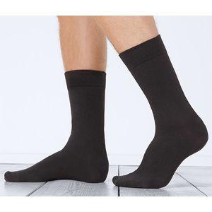 Tchibo 7 pár férfi zokni szettben, rugalmas, fekete kép