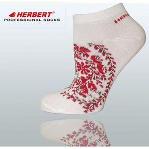 Herbert hti012 mintás pamut női titokzokni kép