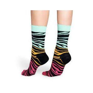 Happy Socks BZ01-073 zebra mintás zokni kép