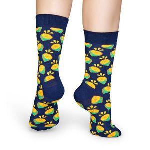 Happy Socks LIM01 lime mintás zokni kép