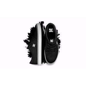 DC Trase TX BLKWHT fekete vászoncipő kép