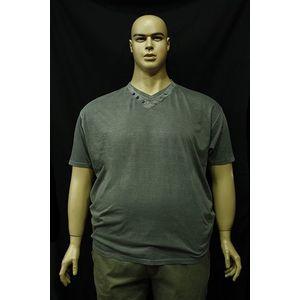 Kitaro 151122 111 extra méretű v nyakas férfi póló kép
