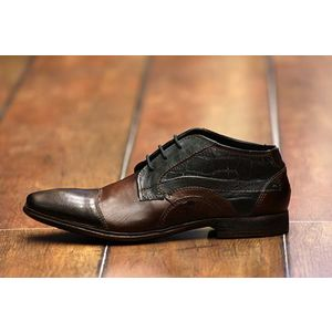 bugatti férfi magasszárú cipő
