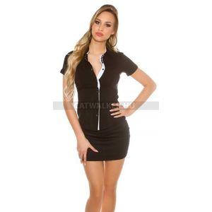d18b6e1d99 Női ing, szegélyes, csinos, fekete - catwalker (50 db) - Divatod.hu