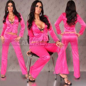 Blézer, szexi, szatén - pink - catwalker kép