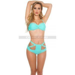 Bikini mintás alsó résszel és pánttal - zafír (36 db) - Divatod.hu d6bc6926c0