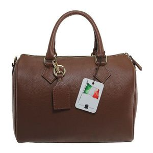 Michal Negrin Közepes méretű barna bőr bowling táska (45 db ... de7fcd54d1