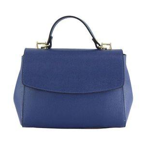 Michal Negrin Kék olasz bőr kézi táska kép
