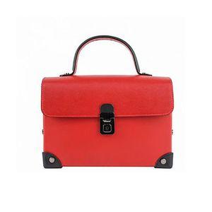 Michal Negrin Szegecselt piros kézi táska kép