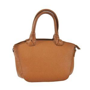 Michal Negrin Bruno Zafferano kis méretű csau barna kézi táska kép