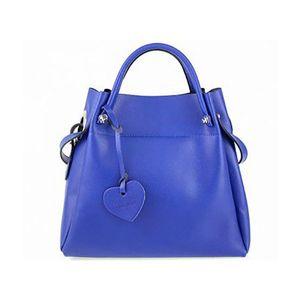 Michal Negrin Király kék 2: 1 fazonú kézi táska kép