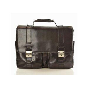Michal Negrin Férfi fekete luxus üzleti táska laptop rekesszel (37 ... fed08a5411