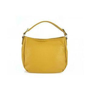 Michal Negrin Köles sárga egyvállas olasz bőr táska kép