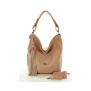 428f2abd8a94 Michal Negrin Púder rózsaszín egyvállas táska rojttal (36 db ...
