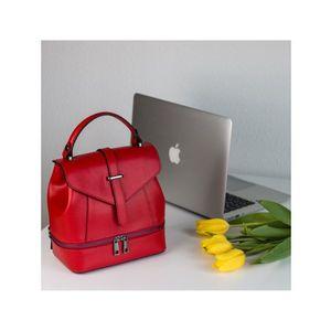 Michal Negrin Piros merev falú háti táska kép