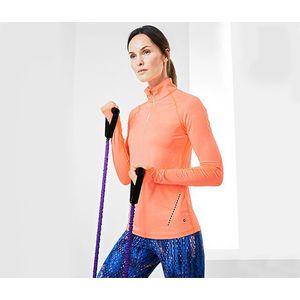 Tchibo női futófelső, hosszú ujjú, barack kép