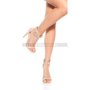 Női szandál, lábujjas, strasszos ezüst (33 db) Divatod.hu