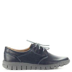 Pollonus kék komfort fűzős cipő kép