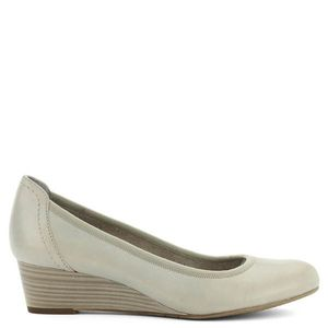Tamaris fekete éktalpú cipő