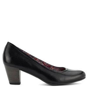 Fekete Tamaris cipő kép