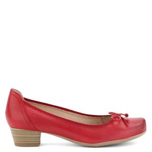Piros Caprice bőr cipő kép