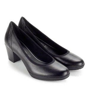 Kis sarkú fekete Marco Tozzi cipő kép
