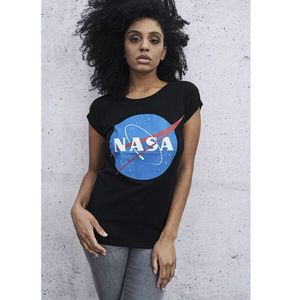 Mr. Tee Ladies NASA Insignia Tee black kép