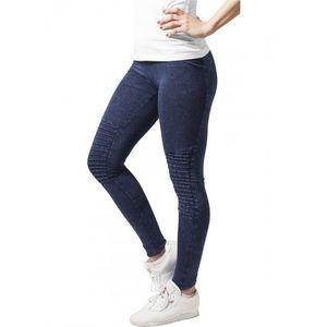Urban Classics Ladies Denim Jersey Leggings indigo kép