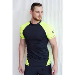 Indi-go Strong Body DUO rövid ujjú edző felső, fekete-piros, L kép