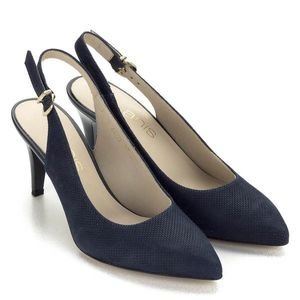 Mintás Anis szandálcipő kék színben kép