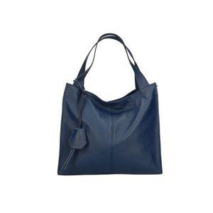 Michal Negrin Szögletes kék shopper kép