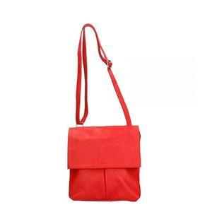Michal Negrin Lapos piros keresztpántos táska kép