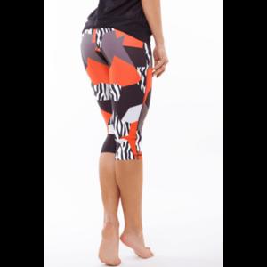 Indi-go Zebra-mix térdnadrág, narancssárga 'M' kép
