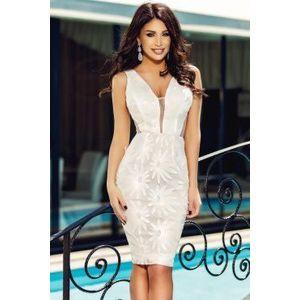 Fehér koktél ruha kép