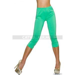 Leggings, háromnegyedes, zöld - catwalker kép