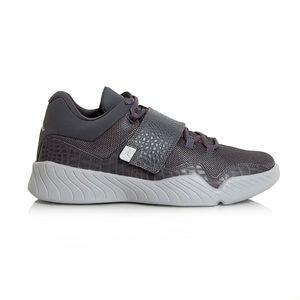 Air Jordan J23 Shoe Dark Grey Metallic Silver Wolf Grey kép