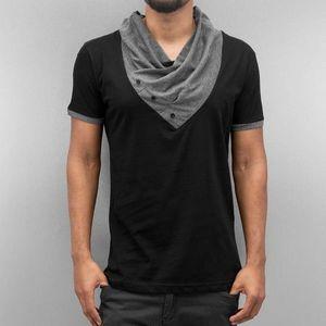 Just Rhyse Alfie T-Shirt Black kép