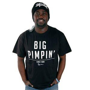 Karl Kani Pimp Tee Black kép