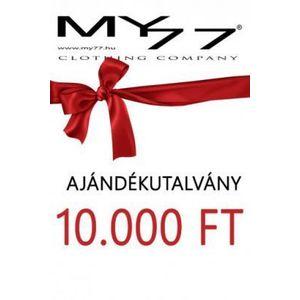 My77 Ajándékutalvány 10000 Ft- kép