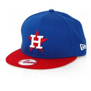 New Era 9Fifty Cotton Block Houston Astros Blue Red kép