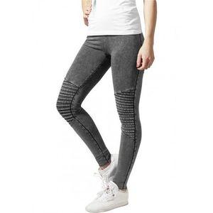 Urban Classics Ladies Denim Jersey Leggings darkgrey kép