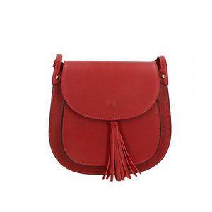 7dd06b24c45f Michal Negrin Rojttal díszített rózsaszín keresztpántos táska (43 db ...