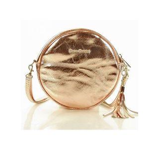 Michal Negrin Kerek rosé arany keresztpántos táska kép