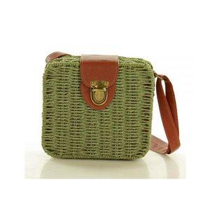 Michal Negrin Fonott zöld szögletes táska kép