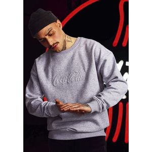 Mr. Tee Coca Cola Embossed Crewneck grey kép