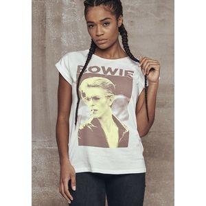 Mr. Tee Ladies David Bowie Tee white kép