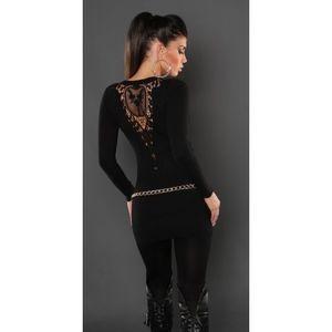 Fekete tunika/miniruha kép