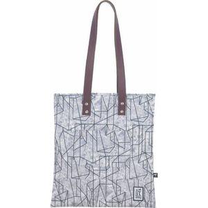 The Pack Society shopper táska, geometric marbles allover kép
