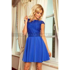 Alkalmi ruha, női, esztétikus - kék - NO 157-5 - catwalker kép