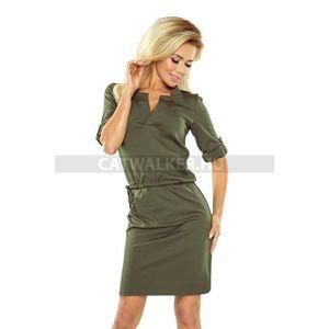 Nyári ruha, elegáns, üzletasszonyos - 39637 - keki - catwalker kép